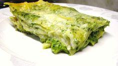 Lasagne with pesto sauce! buone!!! #beautifuliguria