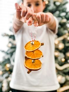 Cinnamon Stick and Orange Slice Ornaments make a beautiful natural addition to your tree decorating! Learn how to dry orange slices and make these pretty (and lovely scented) Christmas ornaments. Today I've joined in with Twig Christmas Tree, Farmhouse Christmas Ornaments, Diy Christmas Lights, Christmas Ornaments To Make, How To Make Ornaments, Handmade Christmas, Christmas Decorations, Christmas Design, Kids Christmas