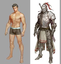 Pin do(a) duong tien em male character concepts Character Design Challenge, Character Design Sketches, Character Design Cartoon, Fantasy Character Design, Character Design References, Character Drawing, Comic Character, Character Concept, Illustration Fantasy