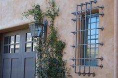 wrought Iron window guard