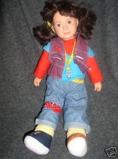 I totally had this doll and thought she was the coolest dresser ever.  Never could find the sunshine hair ties, though.