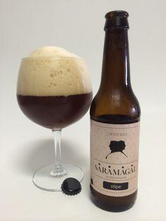 Saramagal Stipe Tostada. Cerveza Artesana de Pontevedra. #CervezaArtesana #Pontevedra #Beer #SpainBeer