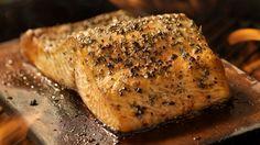 Rezept für den Grill: Lachs von der Planke