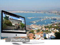 Ofrecemos nuestro servicio de diseño de páginas web en Estartit. Diseño web personalizado y a medida. Más información www.jmwebs.net o Teléfono 935160047