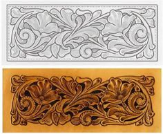 Sheridan Leather Tooling Patterns