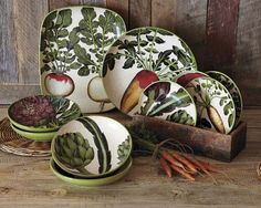 Farmers' Market Pasta Collection from Williams-Sonoma. I don't have them, but I'd LOVE to!