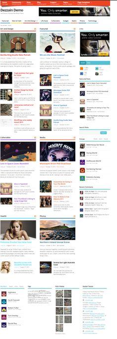 Mesocolumn: A free responsive magazine style theme for WordPress