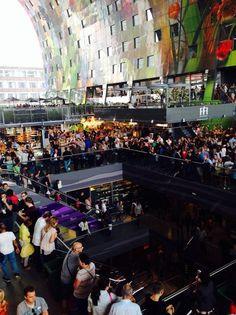 Markt in Rotterdam, Provinz Südholland