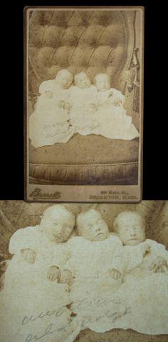 Victorian Baby Death | Three Angels – Victorian Death Photo