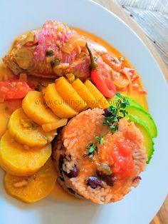 Je cuisine cr ole court bouillon de poisson antillais - Cuisine creole antillaise ...
