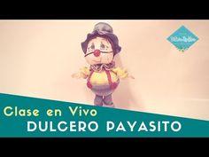DIY En VIVO Dulcero Payasito En Foamy Parte 2 Victoria RodAcu - YouTube