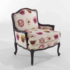 A classic armchair based on the popular Louis XVI design. Many of them are available but possibly none are upholstered in the way we upholster them. Bespoke Furniture, Handmade Furniture, Furniture Design, Occasional Chairs, Upholstered Furniture, Soft Furnishings, Seat Cushions, Accent Chairs, Armchair