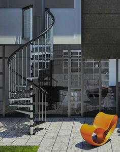 Misterstep Exterior Zink Spiral Stair Kit # From £975.00 + VAT