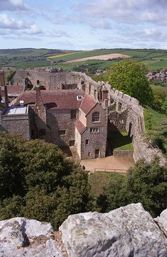 ~Carisbrooke Castle, Isle of Wight~ Charles I was imprisoned here for fourteen months before his execution in 1649.