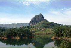 represa de Guatape, Antioquia, Colombia