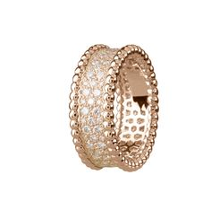 van cleef and arpels perlee ring