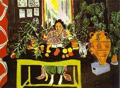 henri matisse | Lector.-CCC.-por Henri Matisse.-1940.-The ...