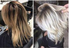 Like shadow roots - All For Hair Cutes Ice Blonde, Ash Blonde Hair, Platinum Blonde Hair, Hair Color And Cut, Hair Colour, Great Hair, Mi Long, Hair Highlights, Hair Dos