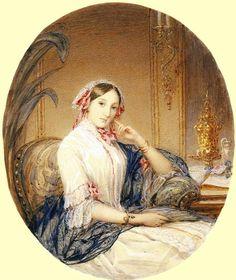 Вел. кн. Мария Николаевна, дочь Николая 1