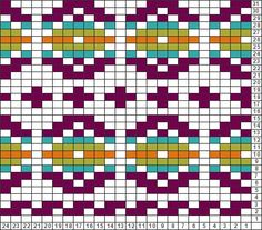 Tricksy Knitter Charts: fair isle 8sts, 5 colors by 42.melissa