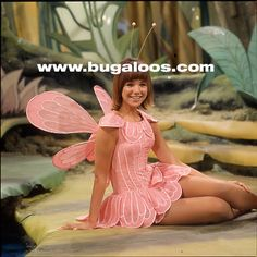 Caroline Ellis a.k.a. Joy from The Bugaloos. The Bugaloos ('70-'72) was Sid and Marty Krofft's Saturday morning follow-up to H.R. Pufnstuf.