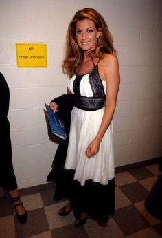 Faith Hill during 2006 CMT Music Awards Backstage and Audience at Curb Events Center at Belmont University in Nashville Tennessee United States