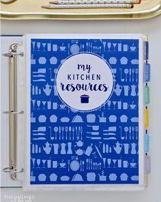 The AllInOne Kitchen Binder is my solution for streamlining mealhellip