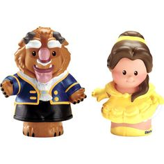 Fisher-Price Little People Belle and The Beast Disney Princess 2 Pack - Toys R Us - Britain's greatest toy store