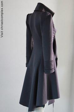 Gorgeous! so sleek steam couture...