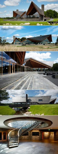Scandinavian Golf Club > www. Hotel Architecture, Landscape Architecture Design, Golf Hotel, Hotel Spa, House Of Cards, Future House, Golf Clubs, House Design, House Styles