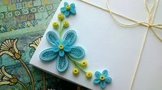 how to make simple paper quilling flowers? paper quilling for beginners Quilling Flowers Tutorial, Paper Quilling Flowers, Paper Quilling Patterns, Origami And Quilling, Quilling Paper Craft, Quilling Cards, Paper Crafts, Paper Art, Quilling Ideas