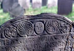 puritan gravestone art   examples of professionally carved boston gravestones found in essex co