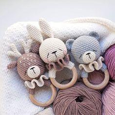 Most recent Cost-Free crochet amigurumi fox Style StricknittMK🌿Häkelanleitung (Maria Druzhinina. Crochet Baby Toys, Crochet Teddy, Cute Crochet, Baby Knitting, Crochet Rabbit, Knitting Hats, Crochet Bear Patterns, Baby Patterns, Crochet Bunny Pattern