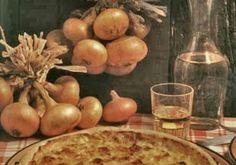 Tarte à l'oignon de Givet - Recettes - Cuisine française Food Presentation, Champagne, Eggs, Breakfast, France, Quiches, Eat Fruit, Dried Fruit, Cooking