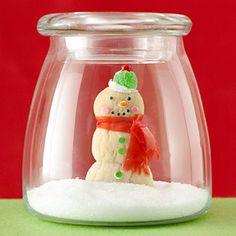 Image detail for -The Robin's Nest: Whimsical Christmas Craft Ideas. Cute Christmas Ideas, Whimsical Christmas, Christmas Love, All Things Christmas, Christmas Decorations, Holiday Decorating, Decorating Ideas, Snowman Crafts, Holiday Crafts