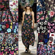 Blossoming spring and winter jacquard fabrics series of high-end clothing wholesale Dress cloth material