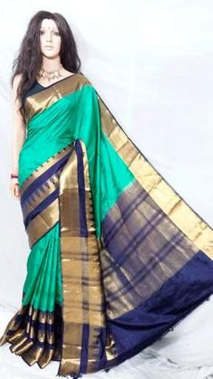 Searching for Kanchivaram Silk Sarees? Dailybuyys offers latest line of Kanchivaram Silk Sarees Online with discount prices in India. Perfect kancheepuram wedding silk sarees for all occasion. Wedding Silk Saree, Indian Designer Sarees, Indian Temple, Silk Sarees Online, Silk Thread, Mulberry Silk, Traditional Design, Sari, Pure Products