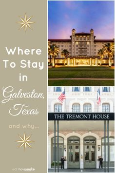 Visiting Galveston Island, Texas? These two Galveston hotels offer historic charm with modern amenities and the best locations on the island.