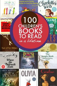 100 Childrens Book to Read in a Lifetime #books