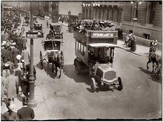 Пятая авеню на 51-ой улице, Нью-Йорк, 1913 год.