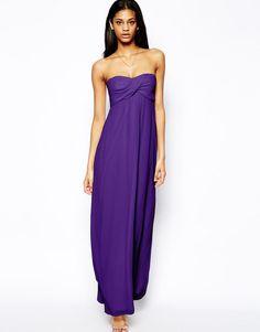 ASOS   ASOS Bandeau Maxi Dress at ASOS - only £15!