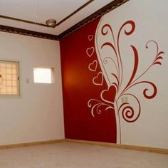 20 tips will help you improve the environment in your bedroom . Creative Wall Painting, Wall Painting Decor, Home Decor Furniture, Diy Home Decor, Room Decor, Bedroom Wall Designs, Room Paint, Ceiling Design, Wall Murals