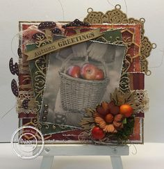 Autumn Greetings card by Astrid Broer