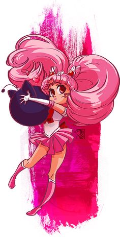 Sailor Chibimoon by peach-mork on DeviantArt