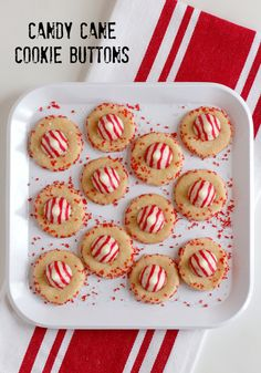 It's that time to prep for holiday parties, mixing up some sweet treats to share. So I'm baking up a plate full of these cute little candy cane cookie buttons! They are just the cookie dessert to bring to a get... Continue Reading →