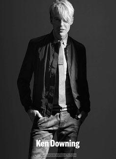 Ken Downing por Dustin Mansyur para IRIS Magazine