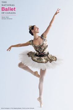The National Ballet of Canada Principal Dancer Sonia Rodriguez in the Act III wedding tutu in The Sleeping Beauty.