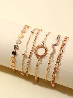 Stylish Jewelry, Simple Jewelry, Dainty Jewelry, Cute Jewelry, Jewelry Accessories, Jewlery, Cute Bracelets, Fashion Bracelets, Fashion Rings
