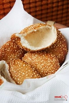 Bánh Tiêu Recipe. A Delicious Sesame Seed Coated Vietnamese Hollow Donut.                                                                                                                                                                                 More