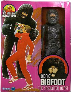 Bionic Bigfoot (the Sasquatch Beast) by Kenner.  My favorite Six Million Dollar Man episode.  My parents took me to some many stores but was never able to find it.